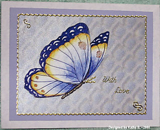 Kathy B Butterfly (craftynikky) for Stephanie