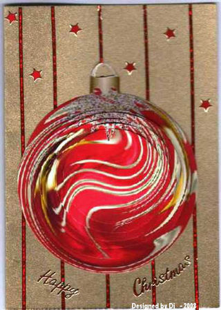 Di red bauble