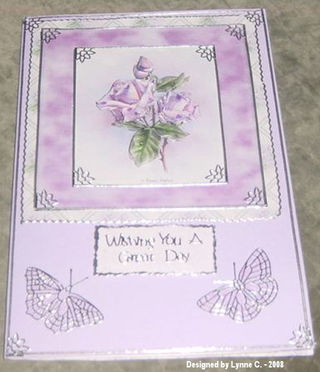 Lynne C LILAC BIRTHDAY ROSE CARD (1)