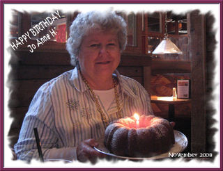 Jo Anne 69th Birthday in 2008