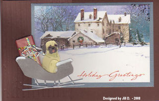 Jill D Carrie Christmas Card466