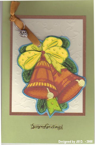 Jill D ornament card461