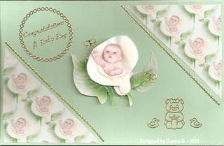 Donna G Baby Shower card for Tyler Gendron2