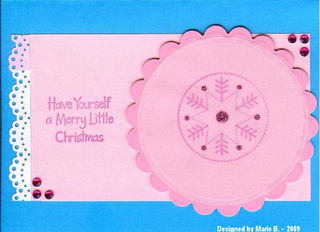 Marie B Have Yourself a Merry Little Christmas_Jan_09