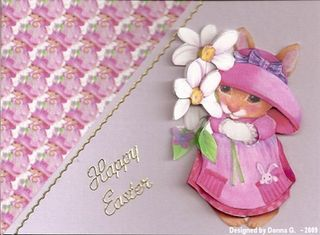 Donna G Easter card 5