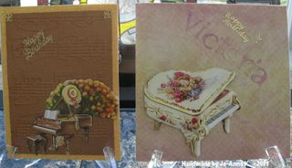 Jo-AnneK piano card and envelope