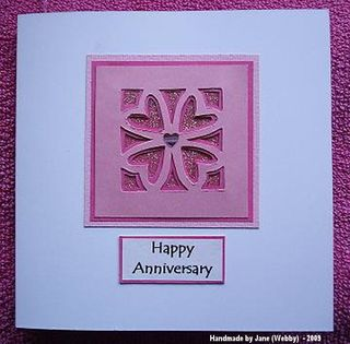 Jane (webby) anniversary molar card