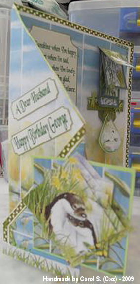 Carol S (Caz) By the waters edge card plus man card 012