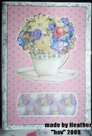 Hev (Heather) card 221n