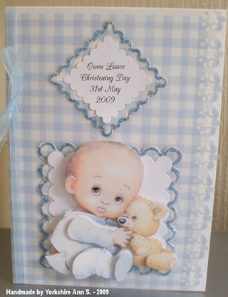 Yorkshire Ann S christening card 001