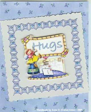 July 09 Hugs Card by Cariad