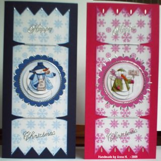 Anne Hart cracker cards