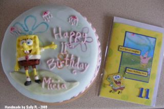 Sally R card & cake 2