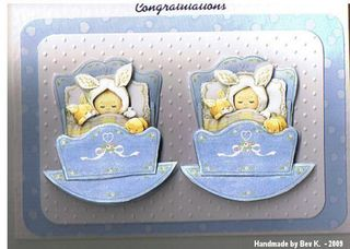 Bev K Lyn & Rich Baby card