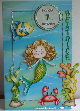 Anne Hart Emma the Mermaid