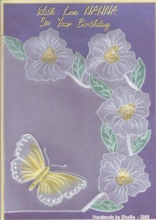 Shellie nanna card