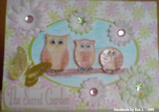 SueJ Three owls