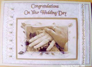 Kiwiali wedding card