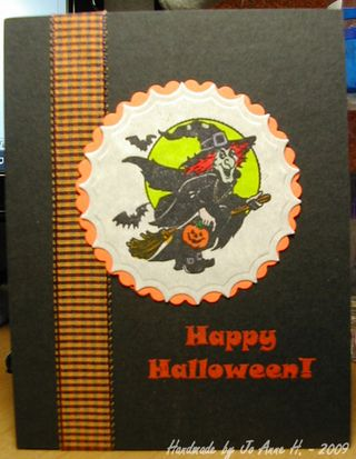 Jo Anne H our halloween card