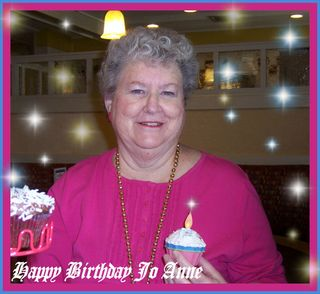 Jo Anne H 70th Birthday