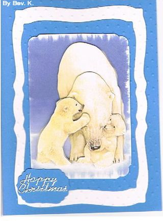 Bev K Polarbear card P chal Jan 2010