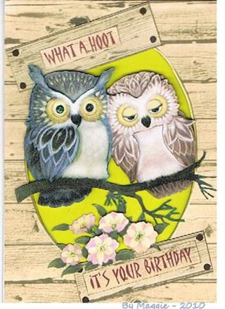 Maggie What_a_Hoot_Birthday_card