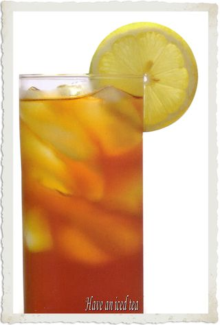 Have an iced tea and relax