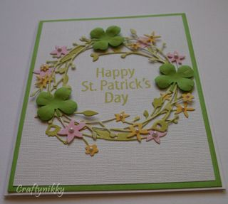 Craftynikky St-Patrick's Day card 6