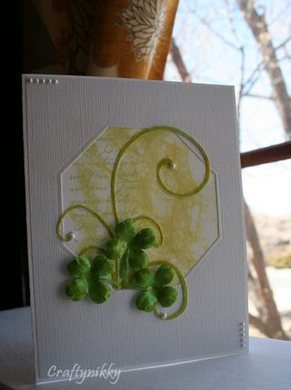 Craftynikky St-Patrick's Day card 10