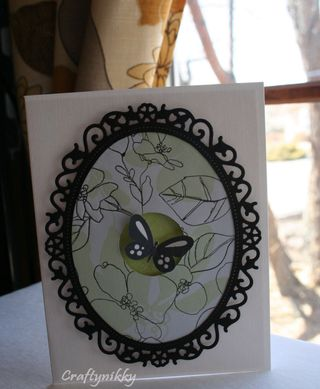 Craftynikky butterfly card 2