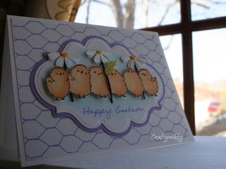 Craftynikky Easter card 5