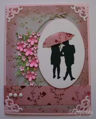 Craftynikky silhouette umbrella card 1