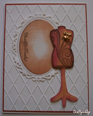 Craftynikky heartfelt thanks card 2