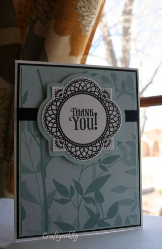 Craftynikky Thank you Justrite card 1