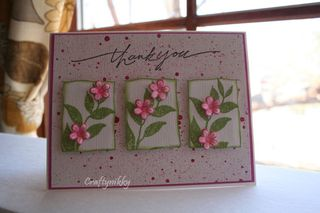 Craftynikky thank you trio flowers 4