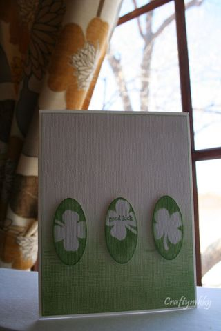 Craftynikky St-Patrick's day card 14