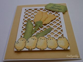 Craftynikky Easter card 3