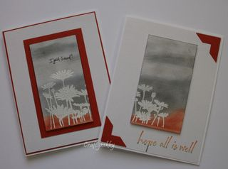Craftynikky I just heard and all is well card 1