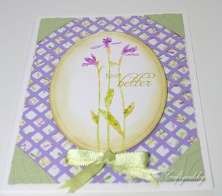 Craftynikky Feel better lattice card 1