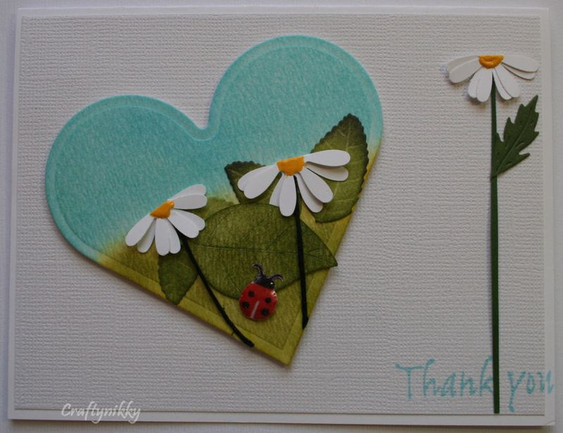 Craftynikky Thank you heart card 7