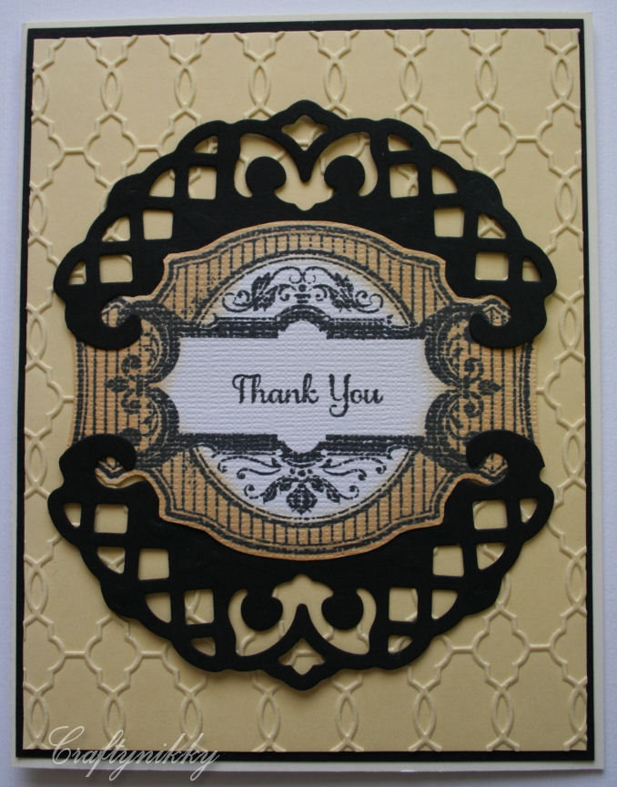 Craftynikky thank you just rite stamp card 1