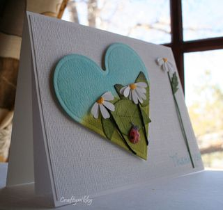 Craftynikky Thank you heart card 1