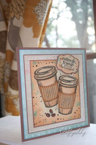 Craftynikky coffee time card 5