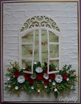 Craftynikky window sill flowers 4