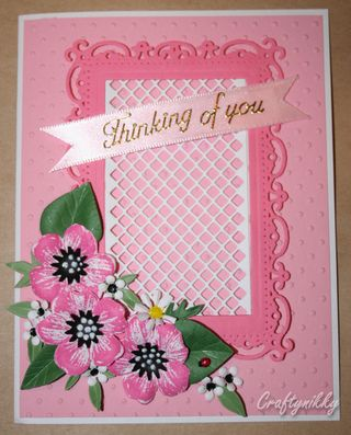 Craftynikky Thinking of you flowers 0