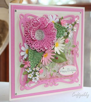 Craftynikky Birthday flower assortment card 5