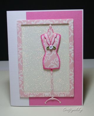 Craftynikky dressform eggshell card 5