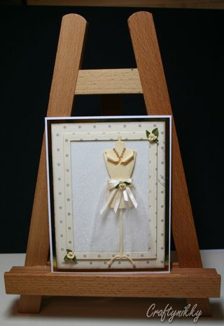 Craftynikky dressform eggshell card 11
