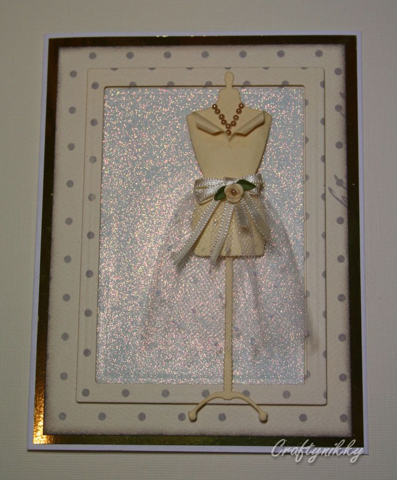 Craftynikky dressform eggshell card 6