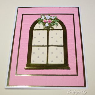 Craftynikky sample window card 1